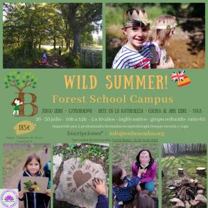 «Wild Summer» – Forest School Campus 2021